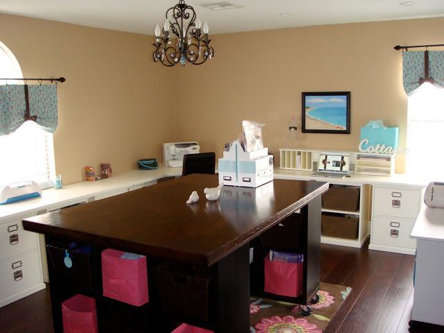 Diy Craft Room Table: ARTFUL LEIGH: DIY Craft Table Tutorial