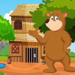 Games4King Cute Brown Bea…