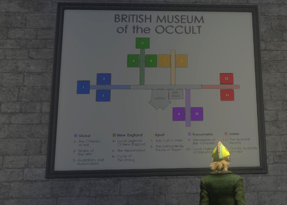 Mmo2go the secret world museum its in london but they did add a lorentzian fabricator purchase from the curator to port you directly to your lobby layout map gumiabroncs Images