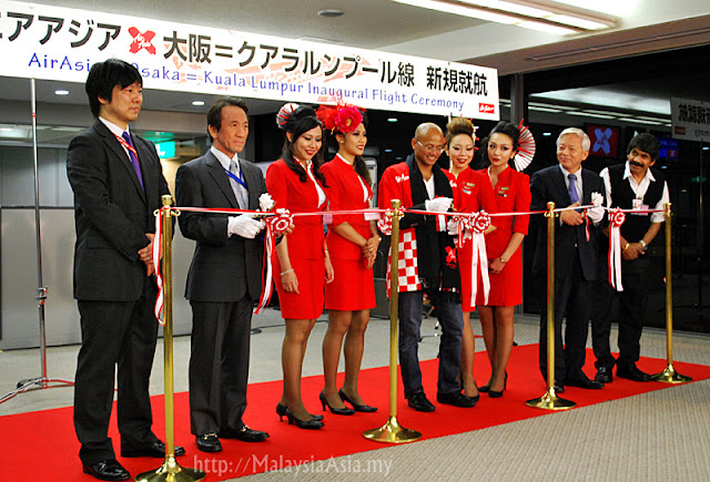 Osaka AirAsia X Flight Ceremony