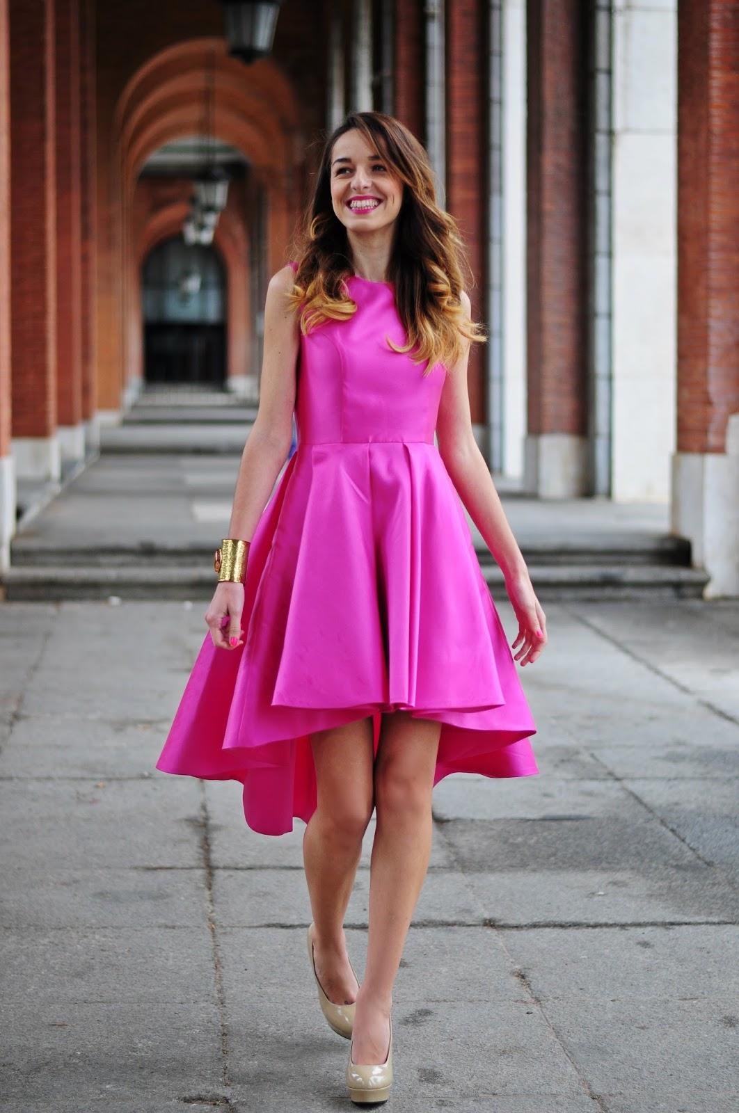 Perfecto Vestido De Flores Invitado A La Boda Patrón - Ideas de ...