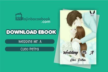 Download Novel Wedding Mr. A by Cleo Petra Pdf