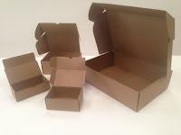 cajas de cartón, cajas automontables,