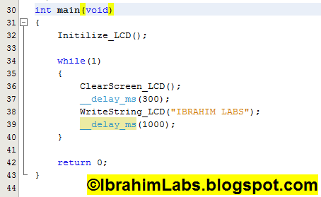IbrahimLabs: How to Interface LCD (in 8 bit) with PIC24