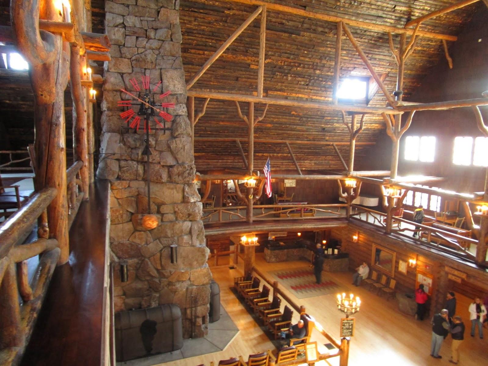 Отель Олд Фейтфул,  Парк Йеллоустоун (Old Faithful Inn , Yellowstone)