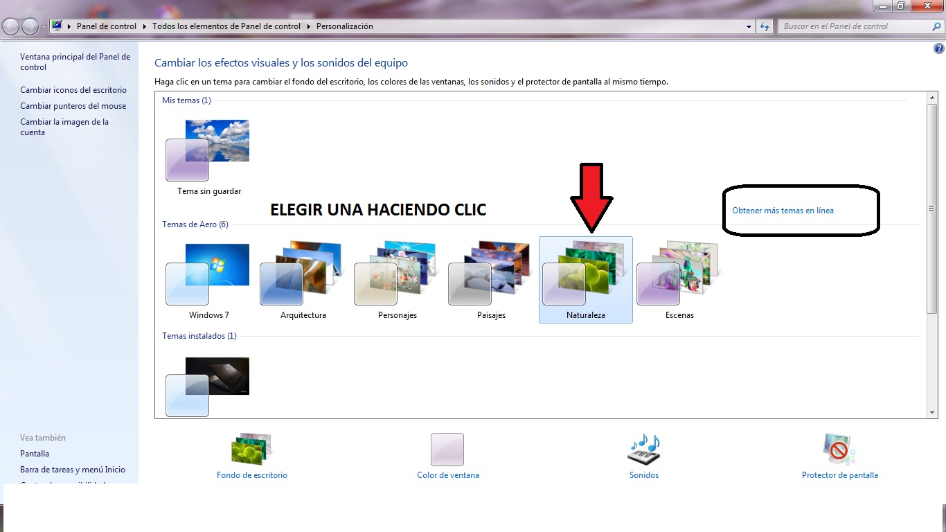 Cambiar el fondo del escritorio en windows 7 windows 8 windows 10 personalizaci n - Como cambiar fondo de escritorio windows 7 starter ...