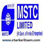 MSTC Asst Manager, MT Recruitment 2018