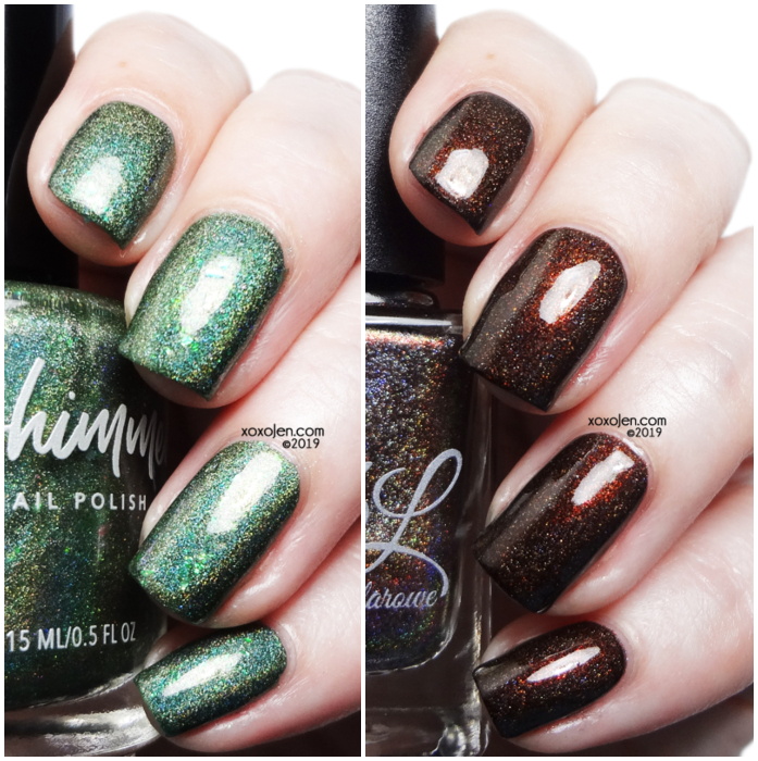 xoxoJen's swatch of CBL & KBS duo inspired by Martha Stewart and Snopp Dogg