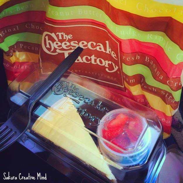 the cheesecake factory sakura creative mind