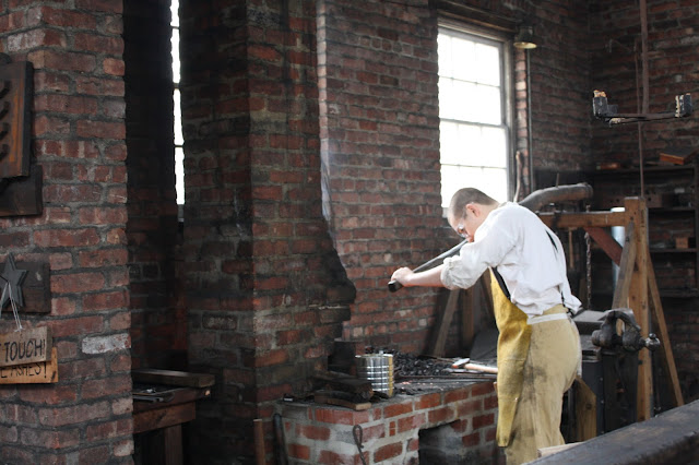 Blacksmith at Allaire