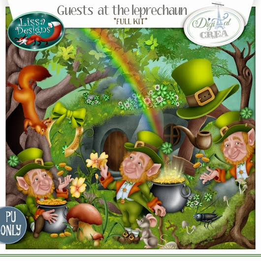 Guests at the leprechaun by Lissa Designs