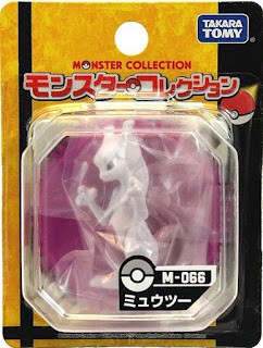 Mewtwo figure Takara Tomy Monster Collection M series