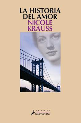 """""""La historia de amor"""" de Nicole Krauss."""