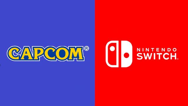 Capcom sacará más juegos al mercado para Nintendo Switch