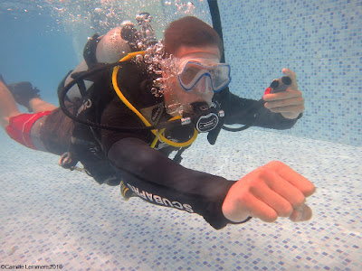 PADI IDC on Phuket for September 2016 is half way