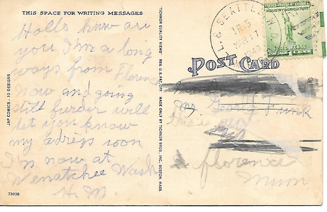 tichnor postcards dating