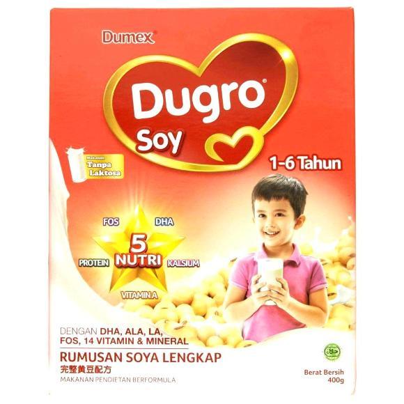 susu dugro soy untuk usia 1-6 tahun
