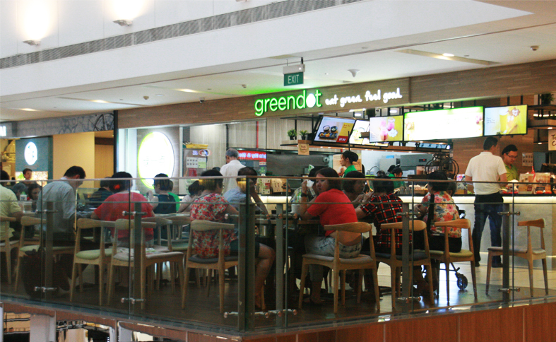 Green Dot: Eat Green Feel Good