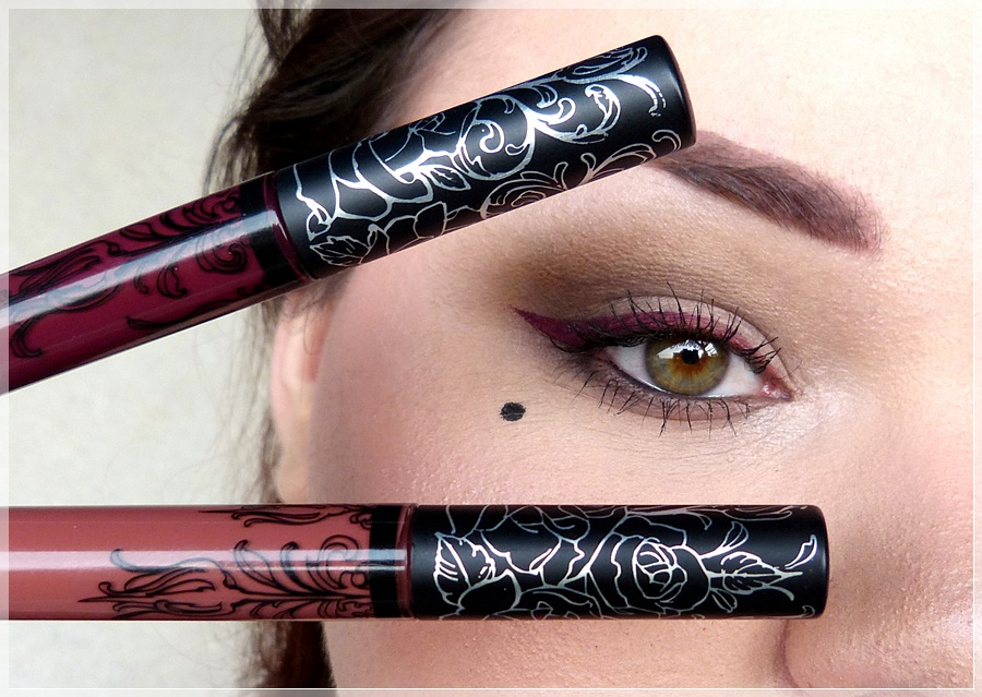 Make up mit Kat von D Liquid Lipsticks