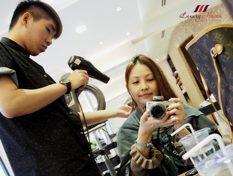 beauty influencer reviews singapore top hair salon georginas
