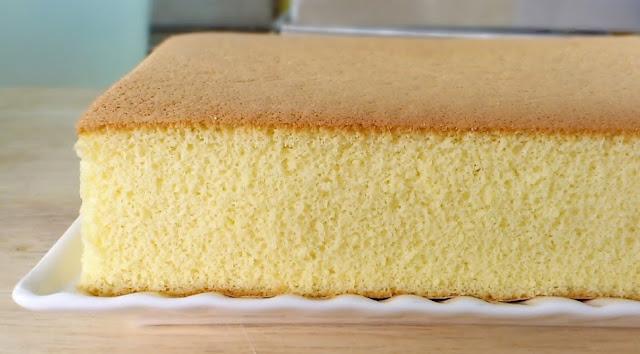 Resep Sponge Cake Jepang: Resep Castella Cake Khas Jepang Praktis Nan Lembut Dengan