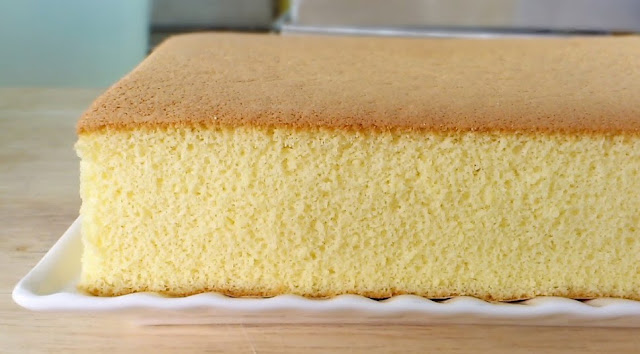 Resep Castella Cake Khas Jepang Praktis Nan Lembut dengan Bahan Sederhana