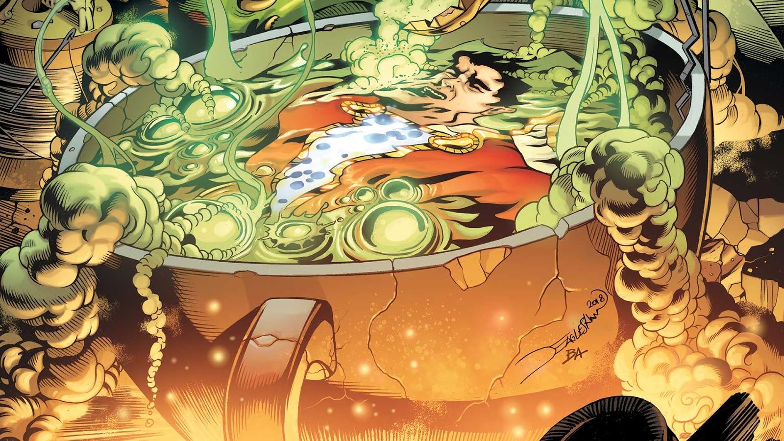 Weird Science Dc Comics Preview Shazam 3