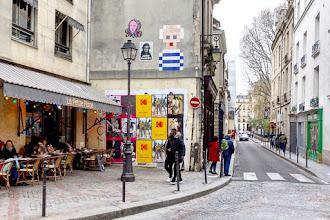 Sunday Street Art : Invader - rue du Parc Royal - Paris 3