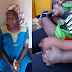 Woman dips one-year-old stepson hands into hot because he ate her food (graphic photos)
