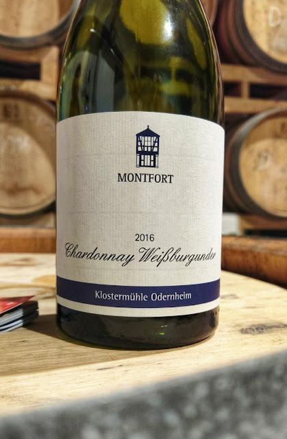 Weißer Burgunder vom Weingut Klostermühle Odernheim