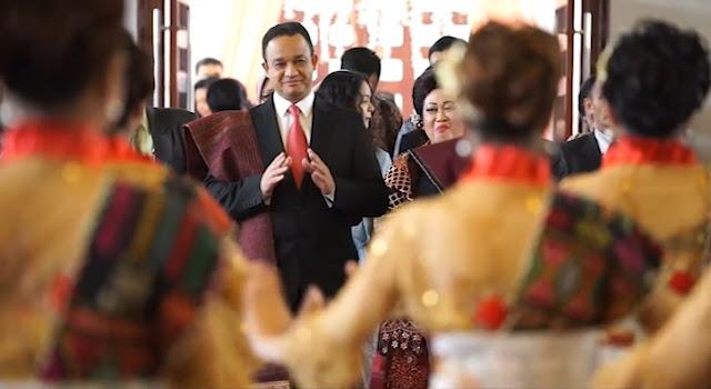 Anies Baswedan Hadiri Pesta Pernikahan Adat Orang Batak,  Jadi Bagian dari Pihak 'Hula-hula'