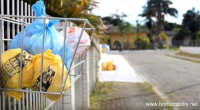 Resultado de imagem para coleta lixo borrazopolis
