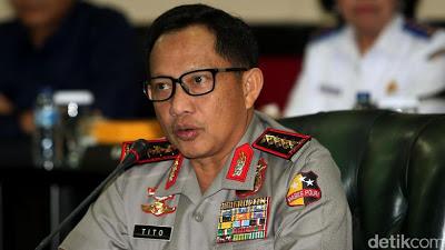 Kapolri: Pelaku Bom Thamrin hingga Bandung Menggunakan Telegram