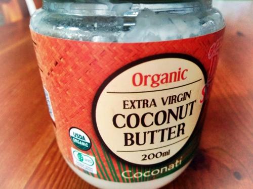 エキストラバージンココナッツバター(オーガニック認証)がマイトレンド。 糖質がほとんどなくて60%以上がオメガ3系の身体に貯まりにくいココナッツオイル、残り40%は食物繊維やタンパク質、酵素、ビタミン、ミネラルなど。 コクと甘味があってこれをなめながらコーヒーを飲むと間食不要です