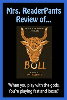 Mrs. ReaderPants reviews Bull by David Elliott--a must for high school libraries.