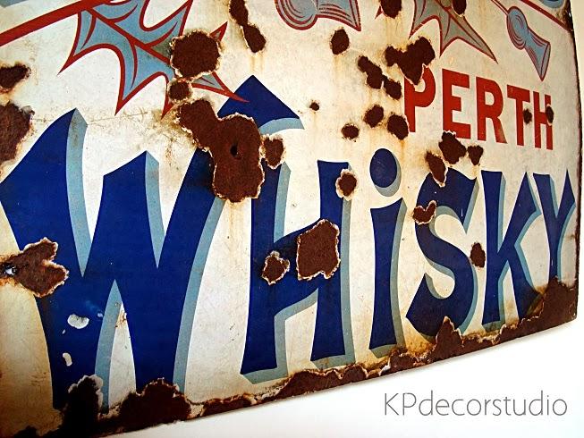 Comprar cartel antiguo para decoración de paredes de forma original estilo retro