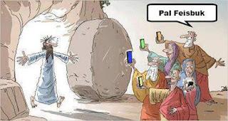 Viñeta Humor Jesucristo-Facebook