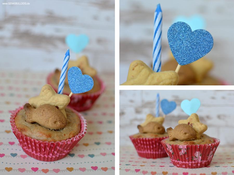 Einfaches Rezept für Geburtstagskuchen für Hunde