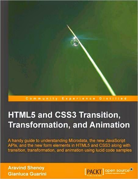 E-book HTML5 and CSS3 Transition, Transformation and Animation