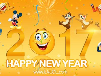 2017 New Year Whatsapp Images