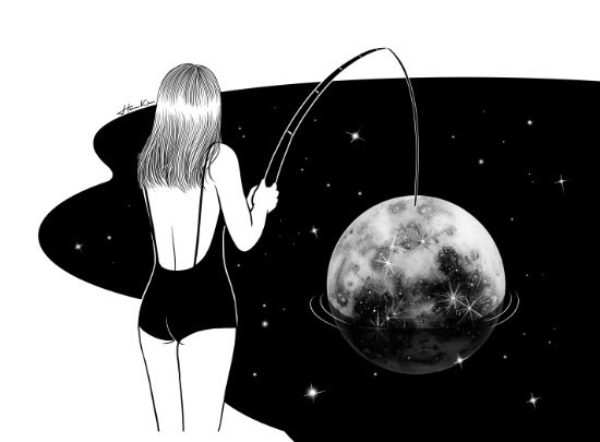 """I just got mooned"" by Henn Kim 