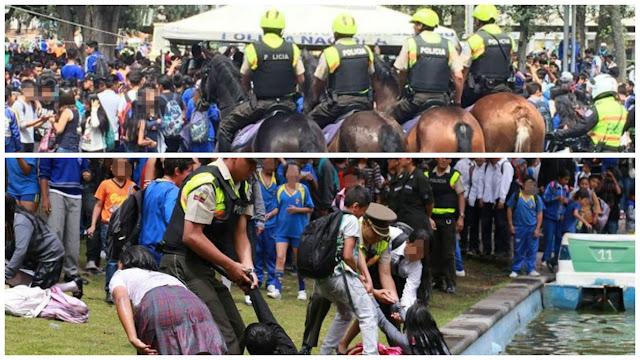 Artículo de Roberto Aguilar: El carnaval del correismo se juega a palazos