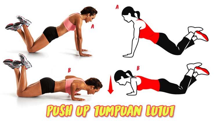 Cara melakukan sit up, push up, dan squat jump (senam pembentukan)