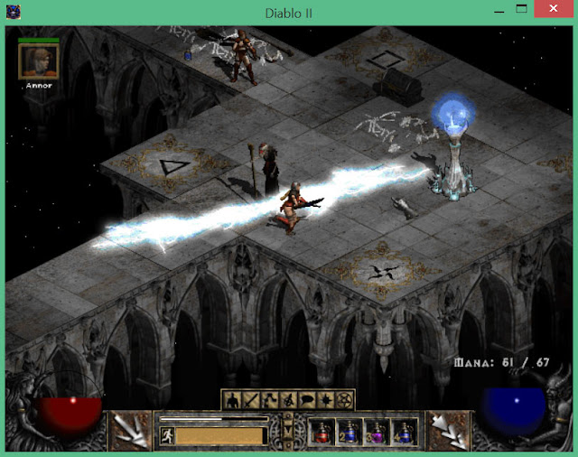 Arcane Sanctuary  | Diablo 2 Screenshot