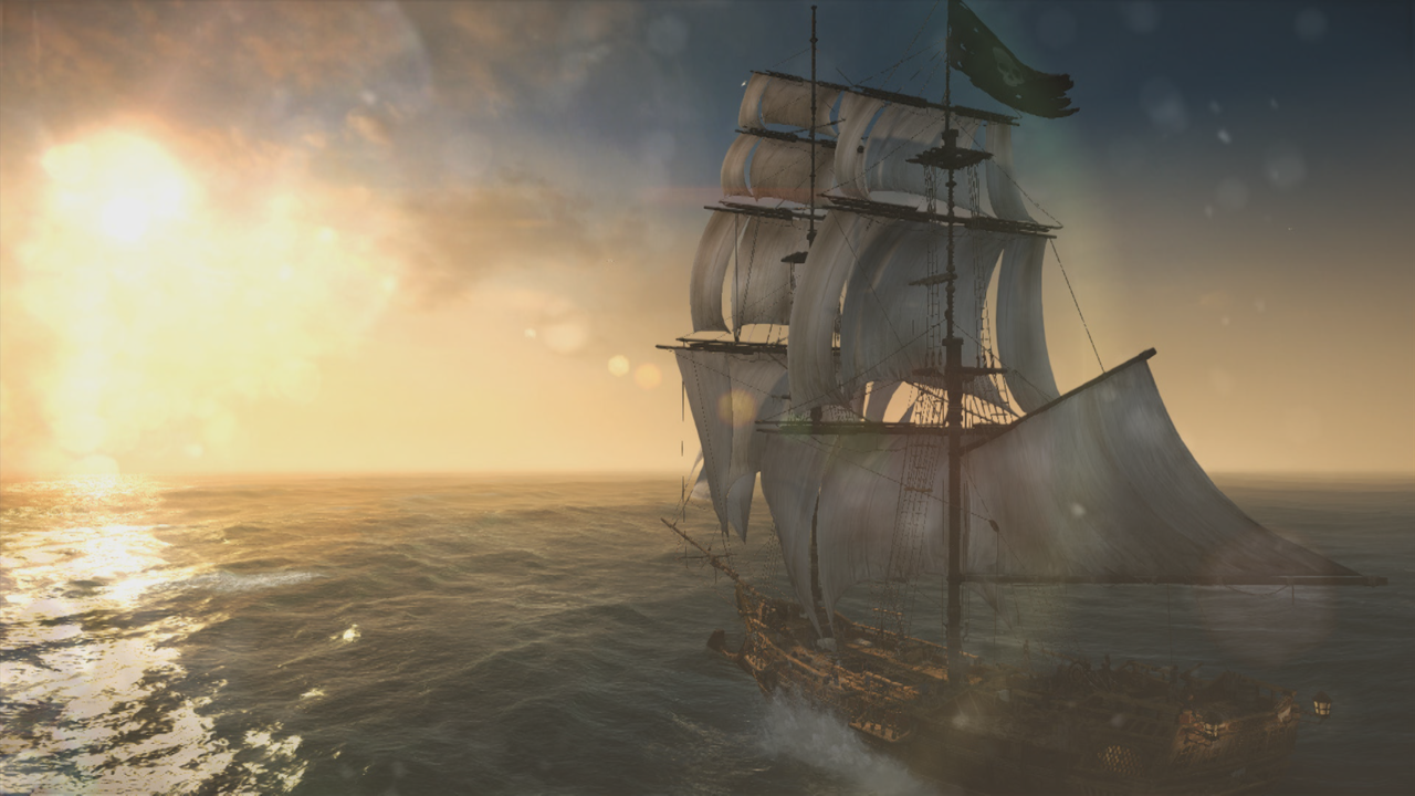 Assassin's Creed 4 Black Flag Game Boat
