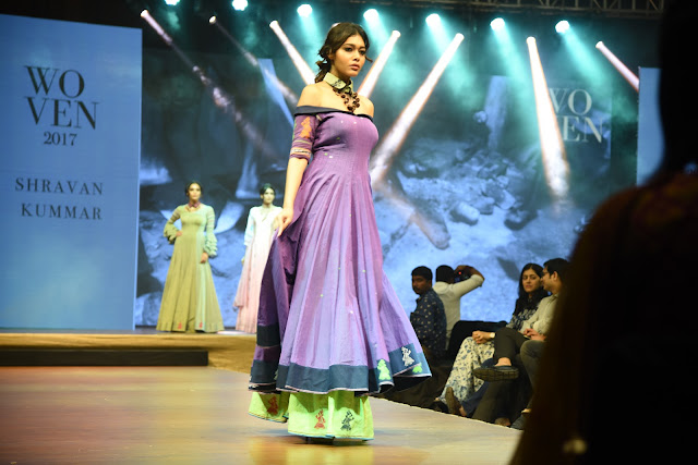 Models Ramp walk at Woven 2017