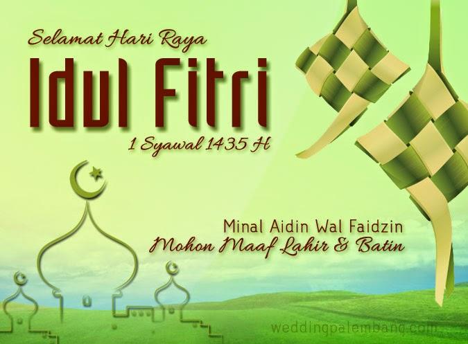 Vektor Kartu Ucapan Idul Fitri Nusagates