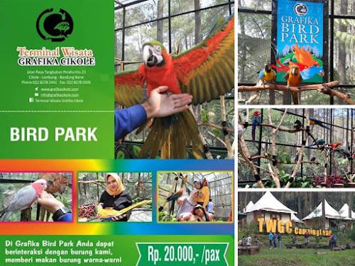Grafika Bird Park Cikole Lembang