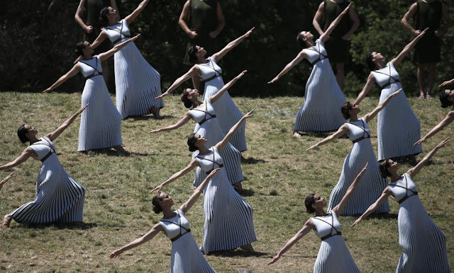 Rio Olympic 2016 - Lighting Ceremony of the Olympic Flame from Olympia, Greece