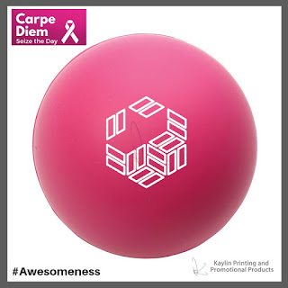 Promotional Pink Stress Balls